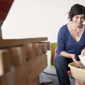 Frederique Bonmatin pottery workshop