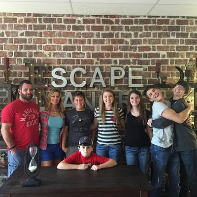 Congrats to our first Escapees! They all did great, and they had a few minutes to spare! Can you