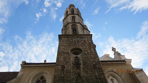 教会の塔景観(高さ43m)