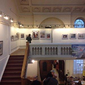 выставка акварели в главном зале