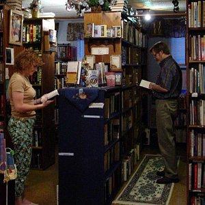 Main Room Time & Again Books & Tea