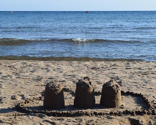Playa de la Pava has the most beautiful soft sand