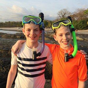 Snorkeling at the Pelada tide pools