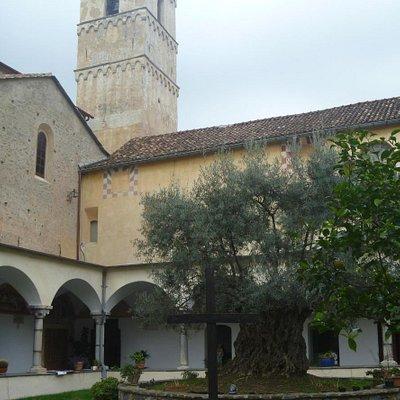 General view of inside towards church door