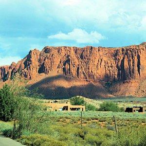 Kayenta Entrance