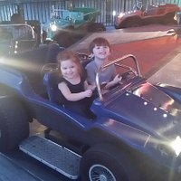 Nice little ride that our 2 year old could do was well.