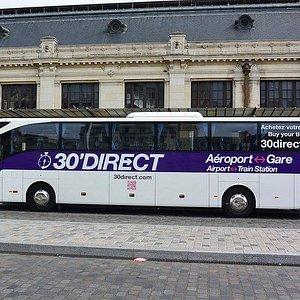 Shuttle Bordeaux Aiport <> Train Station