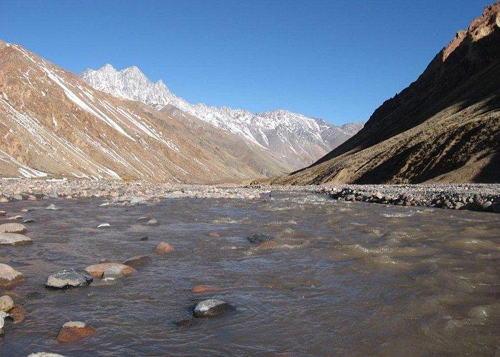 Río Tunuyán   Cruce de los Andes