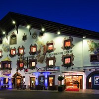 Casino Kitzbühel bei Nacht