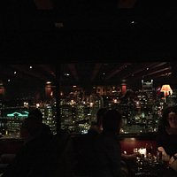 The view is good, the live piano performance is wonderful, and the rib eye is incredible delicio