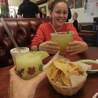Margaritas at Los Arcos