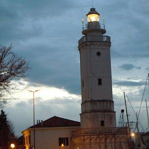 Il faro di Rimini