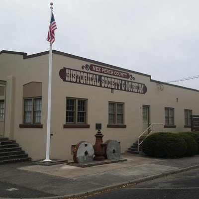 Outside the Nez Perce County Historical Society