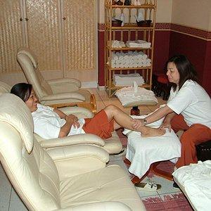 Traditional Foot massage