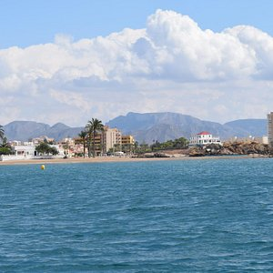 Playa de Nares viewed from the sea