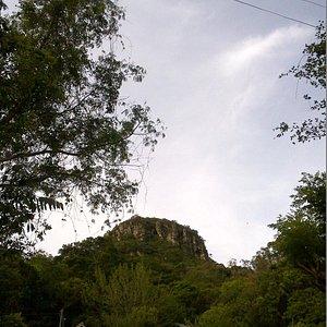Trilha a caminho do cume