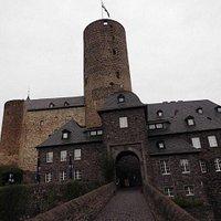 Nochmals Blick auf die Burg