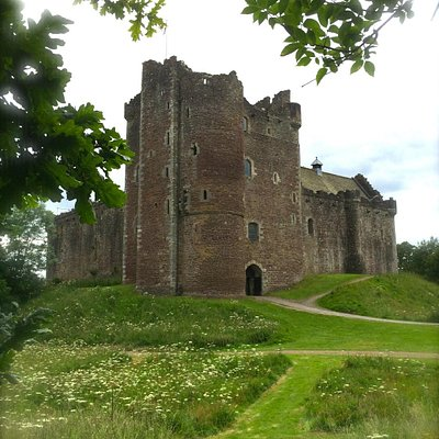Visit the imposing Mackenzie stronghold of Castle Leoch!