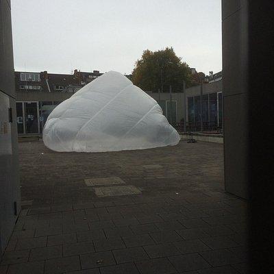 GlaMoog Galerieraum der KHM Köln