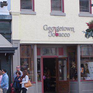 Right in the heart of Georgetown : a wonderful Tobacco Emporium !