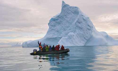 Get up close and personal with Icebergs