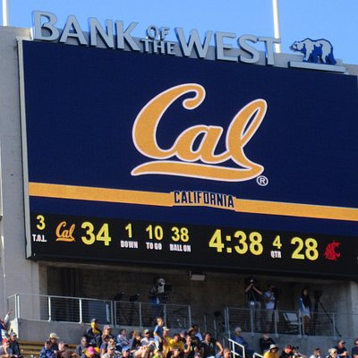 Video Scoreboard, California Memorial Stadium, Berkeley, CA
