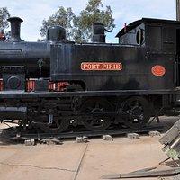 Original steam locomotive