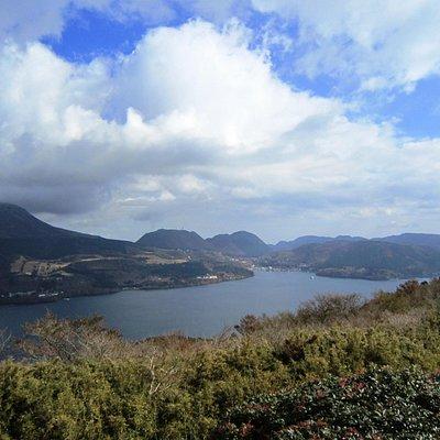 芦ノ湖スカイラインからの景色