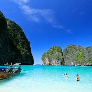 Maya Bay on Phi Phi Islands