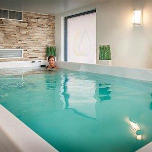 La piscine de relaxation
