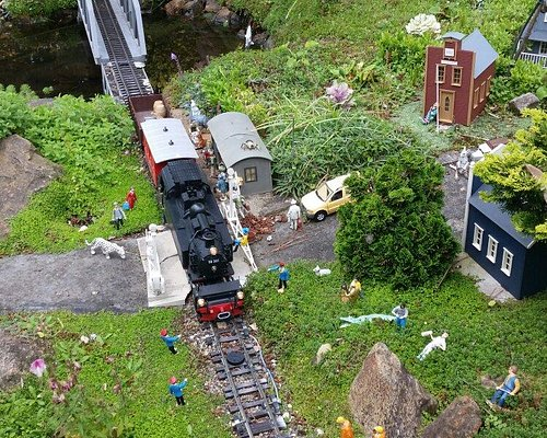 Beautiful model trains