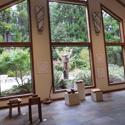 view from the center to the outdoor area
