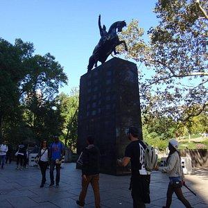Estatua de San Martín en New York