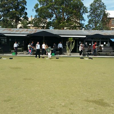 Barefoot Bowls on a Friday afternoon