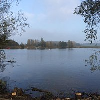 Lovely afternoon walk by the lakes :) 1 st November and a sunny afternoon . Park at Julie Rose s