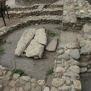 Col di Zucca, il catino absidale della basilica paleocristiana