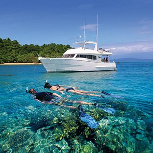 We will guide you carefully as you discover reef life in our underwater playground