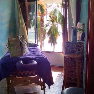 lovely massage room