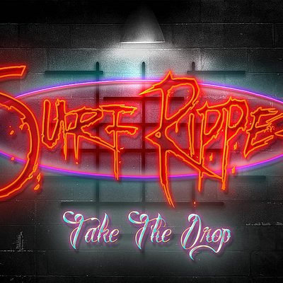 "Surf Ripper ""Logo"" Neon Sign."