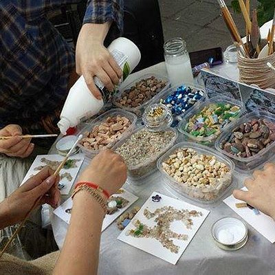 mosaic workshop with Irina Kricalo