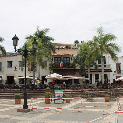 plaza con la atarazana