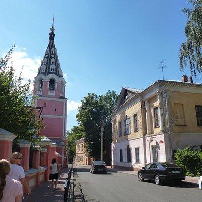 Вид на усадьбу Гончаровых