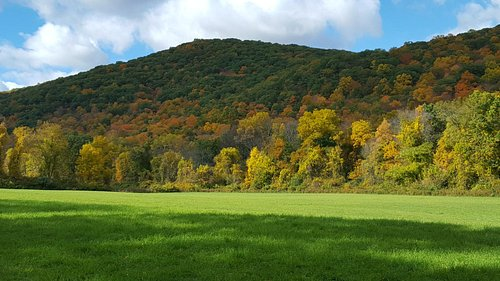 Hiking during NE fall