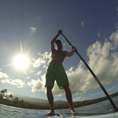 Sunrise paddle!