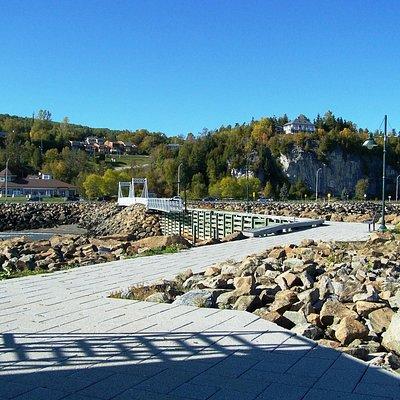 Le quai de La Malbaie, Route du Fleuve