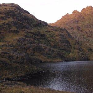 Laguna negra en PN Podocarpus, Cajanuma
