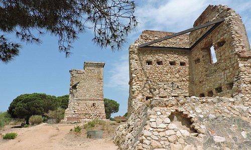 Башни Лас Торретас в октестностях Калельи