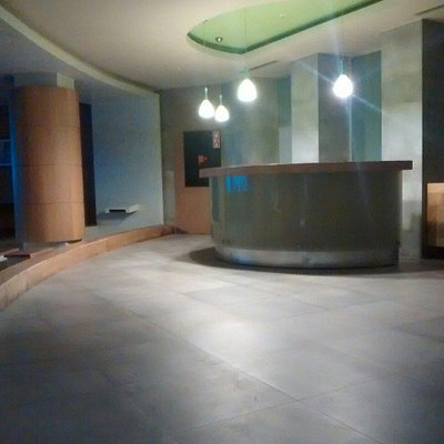 Massage room and waiting area