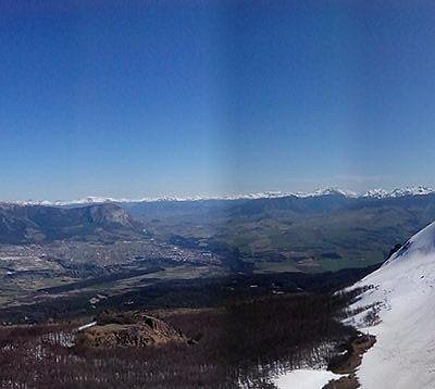 vista desde el cerro cinchao