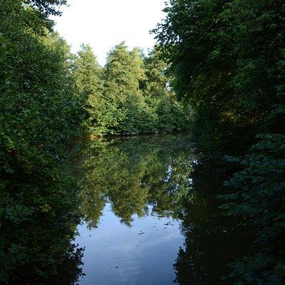 Jezioro w Echternach